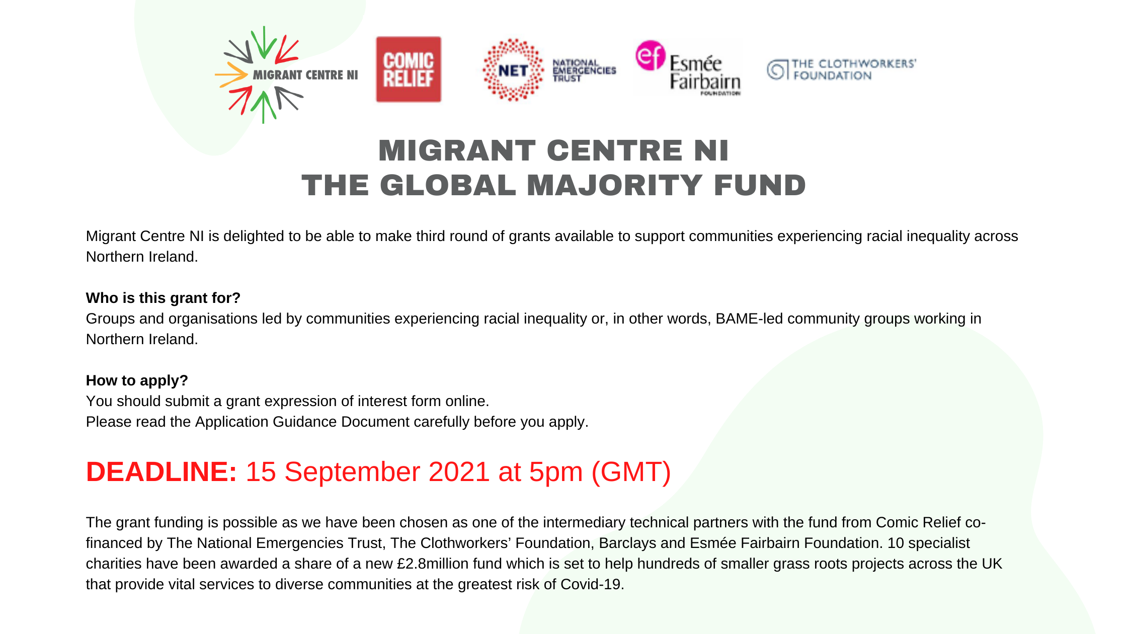 The Global Majority Fund opens